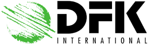Logo: DFK International -