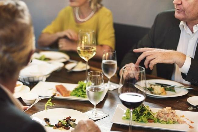 Foto: Essen im Restaurant