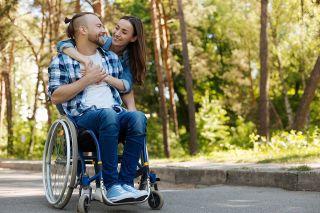 Foto: Rollstuhlfahrer